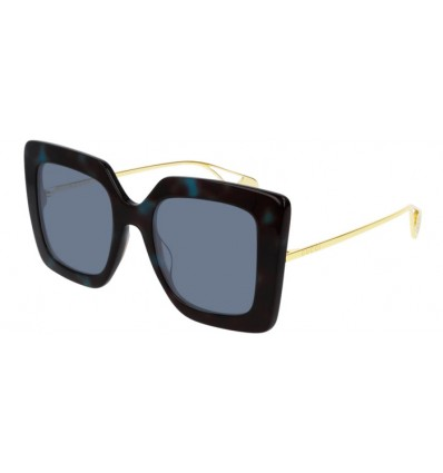 Gafas de Sol GUCCI GG0435S Havana Blue - Light Blue (004)