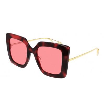 Ulleres de Sol GUCCI GG0435S Havana Pink - Light Pink (005)