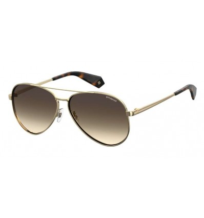 Gafas de Sol Polaroid 6069 Gold - Brown Shadded Polarized (J5G-LA)