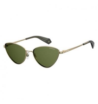 Gafas de Sol Polaroid 6071 Gold Green - Green Polarized (J5G-UC)