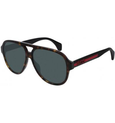 Gafas de Sol GUCCI GG0463S Havana Black - Green (003)