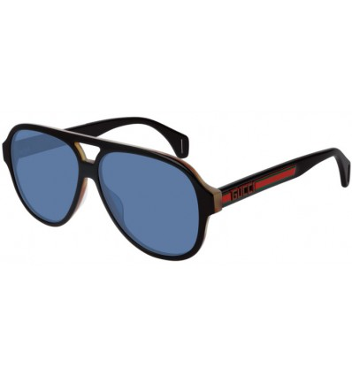 Gafas de Sol GUCCI GG0463S Black - Blue (004)