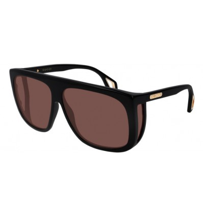 Gafas de Sol GUCCI GG0467S Black - Red (002)