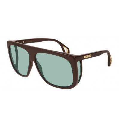 Ulleres de Sol GUCCI GG0467S Brown - Light Green (004)