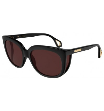 Ulleres de Sol GUCCI GG0468S Black - Brown (001)