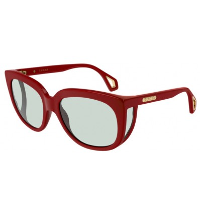 Ulleres de Sol GUCCI GG0468S Burgundy - Light Green (003)