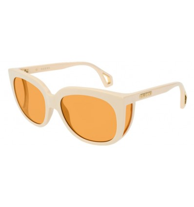 Ulleres de Sol GUCCI GG0468S White - Orange (004)