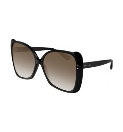 Ulleres de Sol GUCCI GG0471S Black - Brown Gradient (001)
