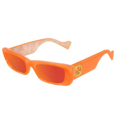 Gafas de Sol GUCCI GG0516S Orange - Double Orange Mirror (005)
