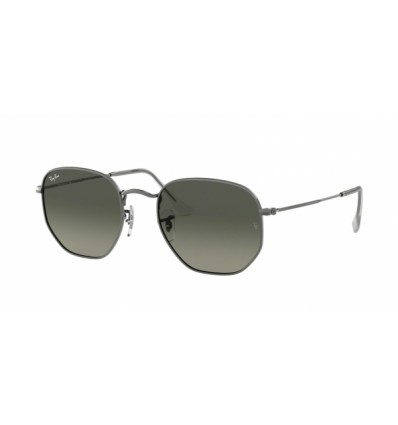 Ulleres de sol Ray Ban Hexagonal Evolve RB3548N 001-71 Gunmetal - Grey Gradient Dark Grey