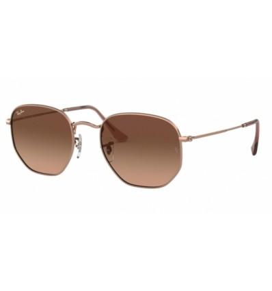 Gafas de sol Ray Ban Hexagonal Evolve RB3548N 9069A5 Copper - Pink Gradient Brown