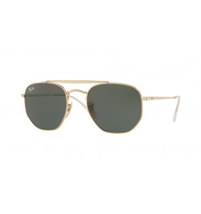 Ulleres de sol Ray Ban Marshal RB3648 001 Gold - Green