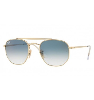 Ulleres de sol Ray Ban Marshal RB3648 001-3F Gold - Clear Gradient Blue