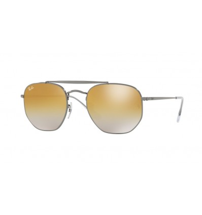 Ulleres de sol Ray Ban Marshal RB3648 004-I3 Gunmetal - Brown Mirror Silver