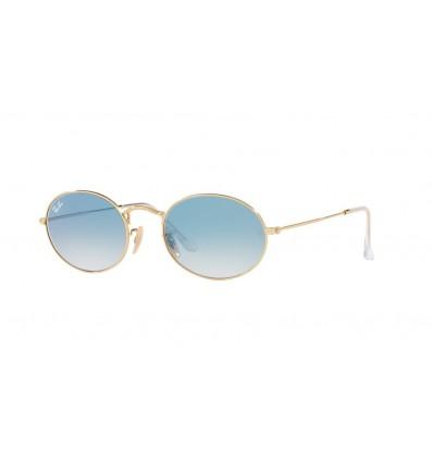 Gafas de sol Ray Ban Oval RB3547N Arista - Crystal White Grad. Blue (001 3F)