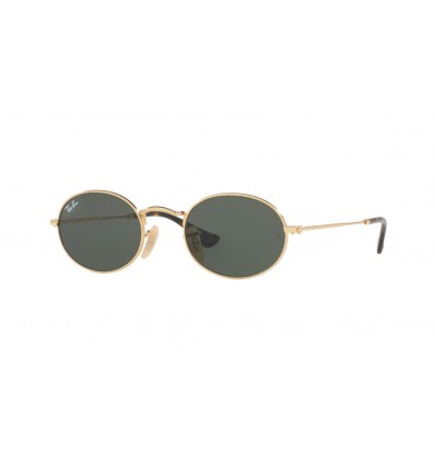 Ulleres de sol Ray Ban Oval RB3547N Gold - Green (001)