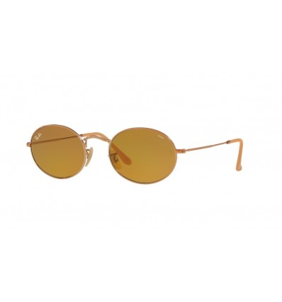Gafas de sol Ray Ban Oval RB3547N Copper Bronce - Evolve Brown (91314I)