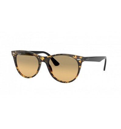 Gafas de sol Ray Ban Wayfarer II Evolve RB2185 Yellow Havana - Photo Orange Gradient Brown (1248AC)