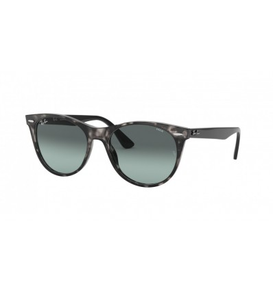 Gafas de sol Ray Ban Wayfarer II Evolve RB2185 Grey Havana - Photo Azure Gradient Blue (1250AD)
