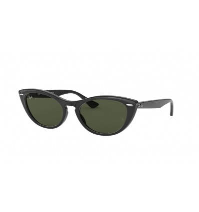 Ulleres de sol Ray Ban Nina RB4314N Black - Green (601-31)