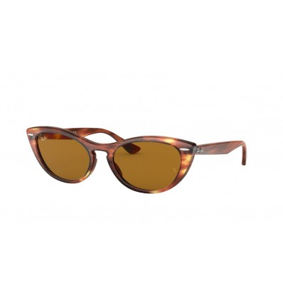 Ulleres de sol Ray Ban Nina RB4314N Stripped Brown - Brown (954-33)