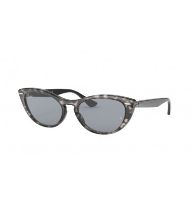 Gafas de sol Ray Ban Nina RB4314N Havana Grey - Blue Mirror Gold (1250Y5)