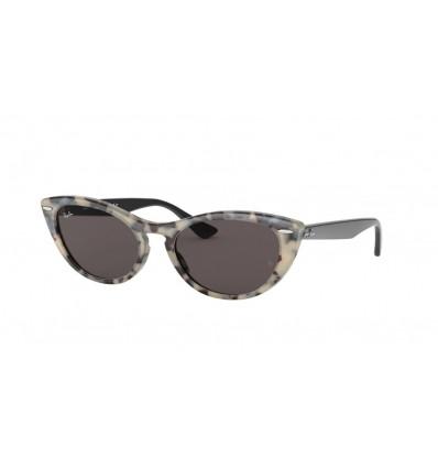 Gafas de sol Ray Ban Nina RB4314N Havana Beige - Grey Mirror Gold (125139)