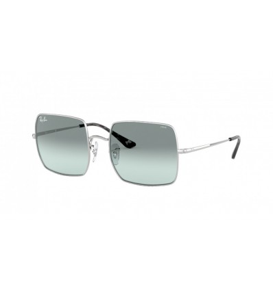 Ulleres de sol Ray Ban Square RB1971 Silver - Photo Azure Gradient Blue (9149AD)