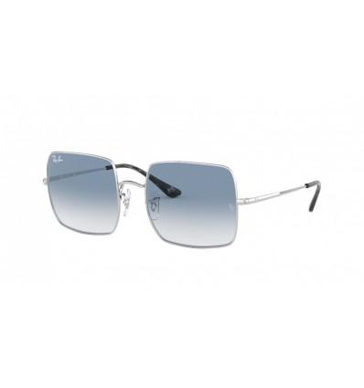Gafas de sol Ray Ban Square RB1971 Silver - Clean Gradient Blue (91493F)