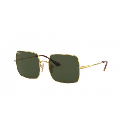 Ulleres de sol Ray Ban Square RB1971 Gold - Green (914731)