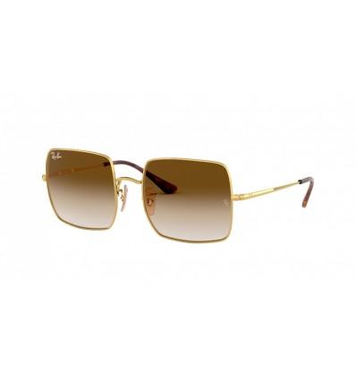 Gafas de sol Ray Ban Square RB1971 Gold - Clear Gradient Gold (914751)