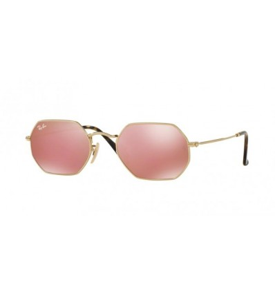 Gafas de sol Ray Ban Octogonal RB3556N Gold - Copper Flash (001Z2)