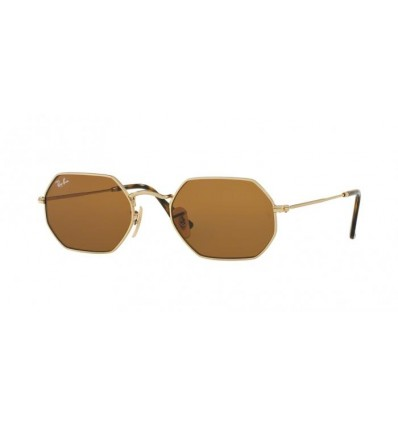Ulleres de sol Ray Ban Octogonal RB3556N Gold - Brown (00133)