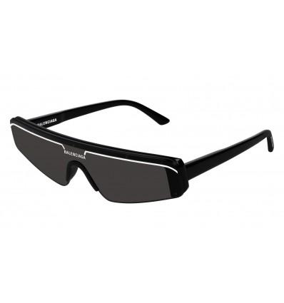 Gafas de sol Balenciaga BB0003S Negro - Gris (001)