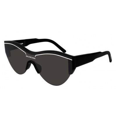 Gafas de sol Balenciaga BB0004 Negro - Gris Oscuro (001)