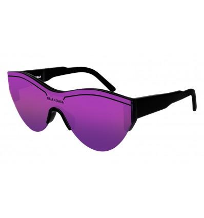 Gafas de sol Balenciaga BB0004 Negro - Violeta (002)
