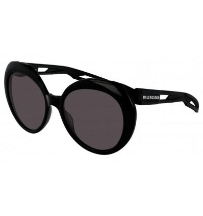 Gafas de sol Balenciaga BB0024 Negro - Gris (004)