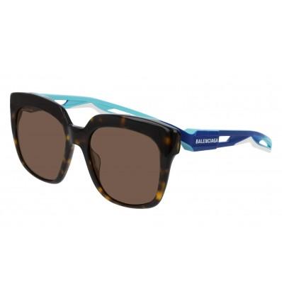 Gafas de sol Balenciaga BB0025S Havana Azul - Marrón (002)