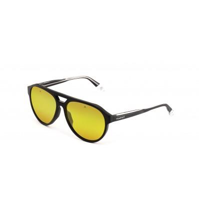 Gafas de sol Vuarnet VL1908 Negro Mate Transparente - Lente Yellow Nightlynx (0004 - 8184)