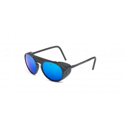 Gafas de sol Vuarnet VL1709 Negro Mate y Negro - Gris Espejo Azul (0001 - 1126)