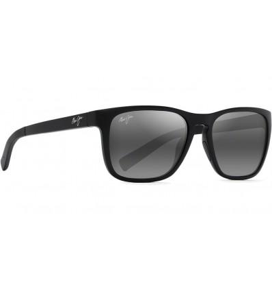 Gafas de sol Maui Jim Longitude Negro Mate - Gris Neutro (762-2M)