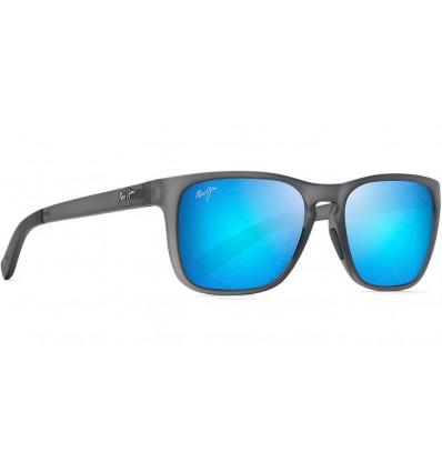 Gafas de sol Maui Jim Longitude Gris Mate Translucido - Azul Hawai (B762-11M)