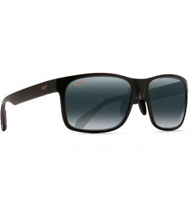 Gafas de sol Maui Jim Red Sands Negro Mate - Lente Gris Neutra (432-2M)