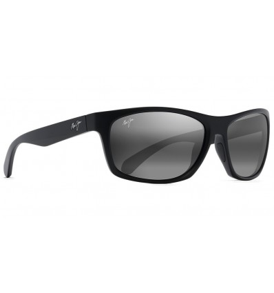 Gafas de sol Maui Jim Tumbleland Negro Mate - Gris Neutro (770-2M)