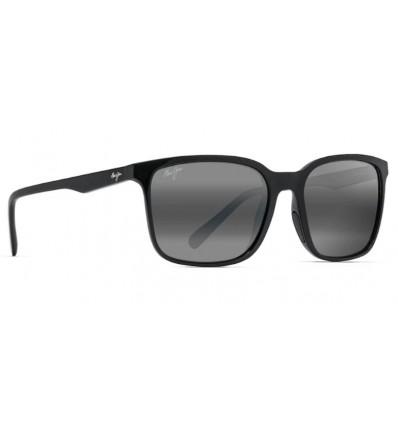 Gafas de sol Maui Jim Wild Coast Negro Medianoche - Gris Neutro (756-02H)