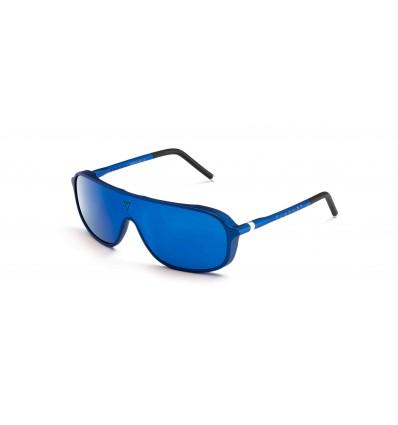 Gafas de sol Vuarnet VL1931 Azul Metalizado Mate y Negro - Lente Marrón Con Espejo Azul (0003 - 2226)