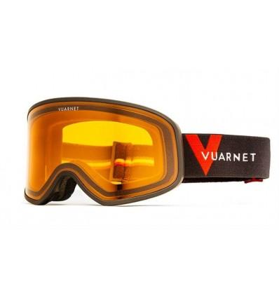 Mascara de neu Vuarnet VM1920 Negre Mate - Lents Taronja (0001-5513)