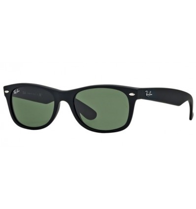 Gafas de sol RAY BAN RB2132 New Wayfarer Black Rubber ¡Best Seller!