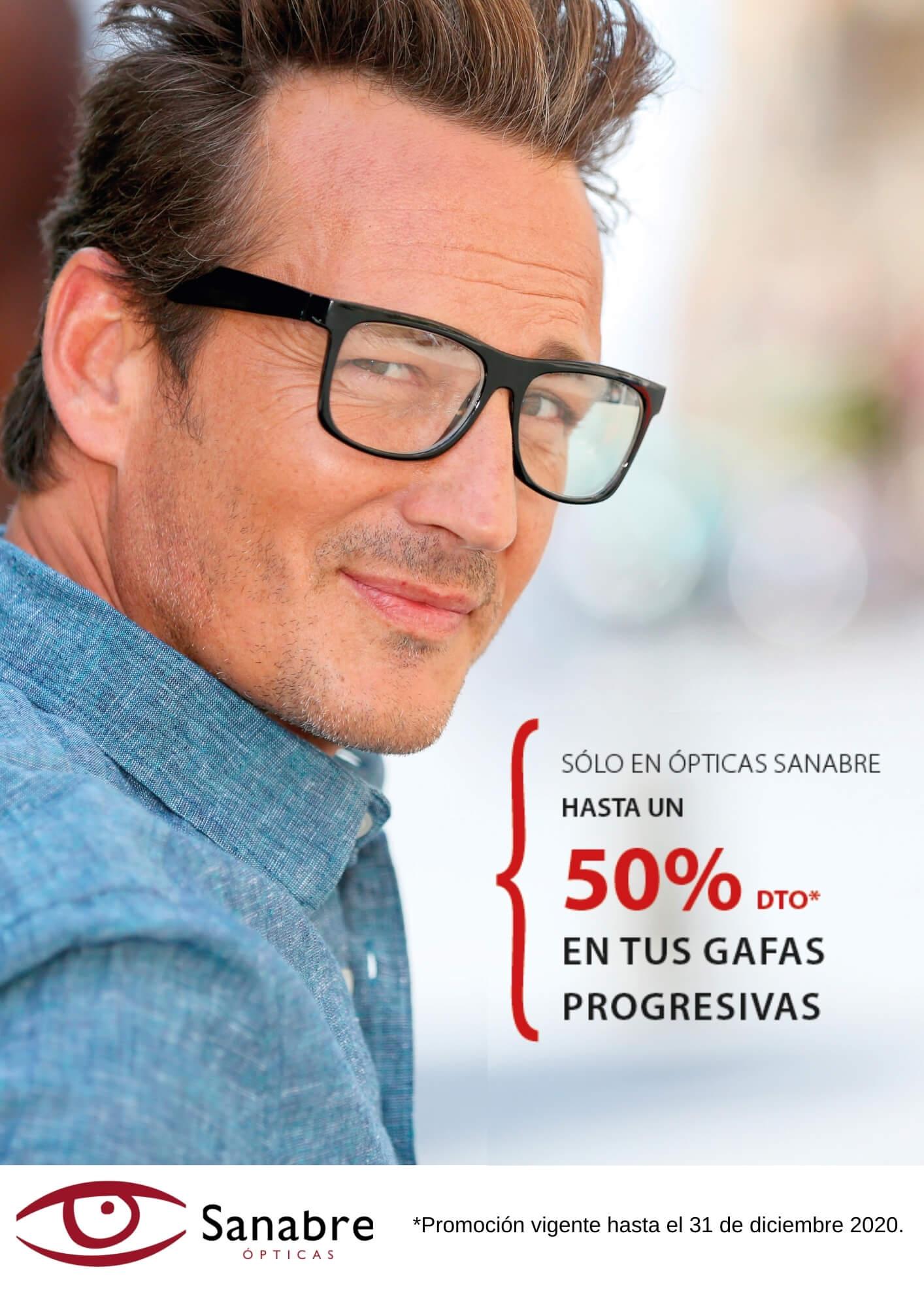 gafas progresivas con descuento barcelona